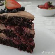 id_40880 Шоколадно-вишневый торт 🍒🎂  Автор: daniya_alt  #gif@bon