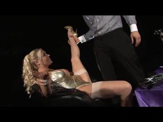 Elegant smoking blonde Cindy gets nice sex (Big Tits, High Heels, Stockings, Lingerie, Hardcore, HD Porn)