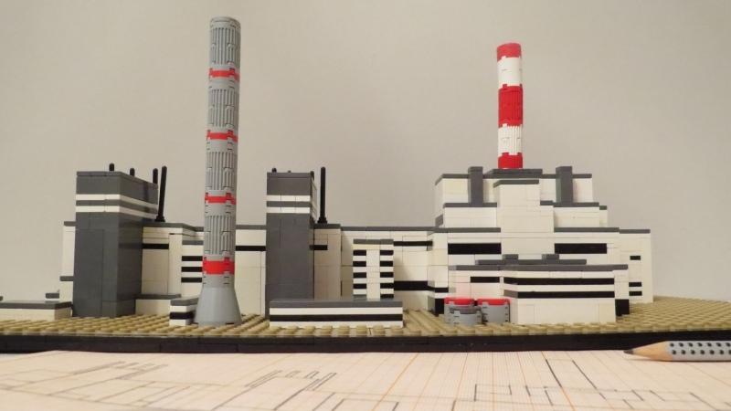 ЛЕГО ЧАЭС LEGO Chernobyl Nuclear Power Plant