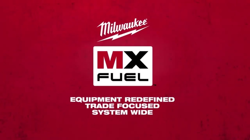 Milwaukee® MX FUEL™ Equipment System 720P HD