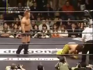 Shuji Kondo (c) vs. Taiji Ishimori -  (dragondoor project   d2p Los Conquistadores II)
