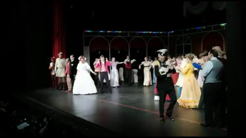 Поздравляем Пятигорский театр оперетты с закрытием гастролей на нашей сцене в Ставрополе!