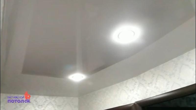 Монтаж натяжного потолка Мат Глянец Натяжной потолОК Новосибирск