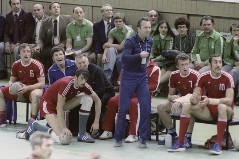 Скамейка сборной СССР, Олимпиада-1980