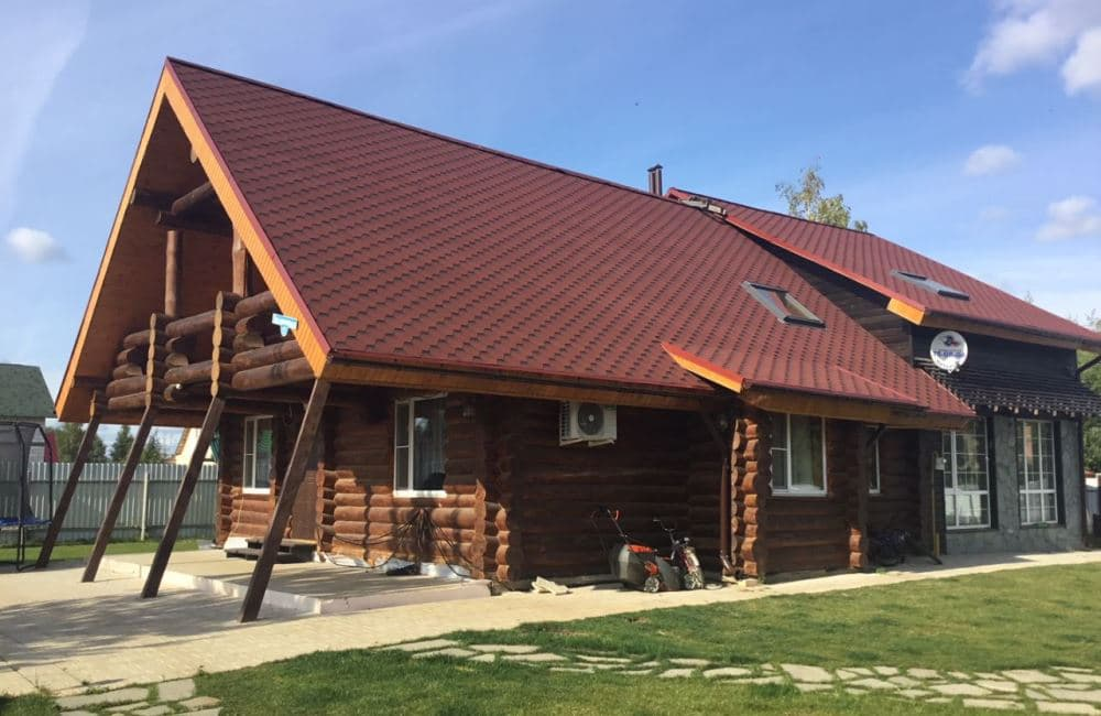 Так выглядел деревянный дом до ремонта