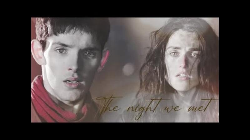 Merlin Morgana The night we met