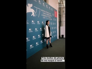Stacy Martin at the Venice Film Festival - 09/03/2020