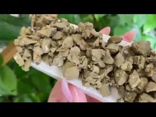 Мокрый пиленый мел Услада в мокрой крошке глины Уральская