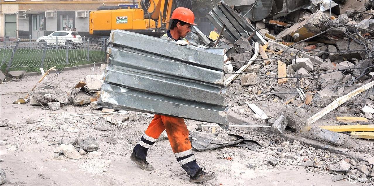В Нижегородском демонтировали самострой. Фото: mos.ru