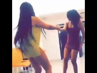 sexy Arabic girl home dance