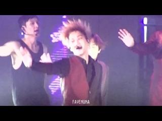 [FANCAM] 150612 EXOPLANET #2 - The EXO'luXion in Taipei @ EXO's Kai Focus - Love Me Right