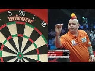 Peter Wright vs Dave Chisnall (Dubai Duty Free Darts Masters 2017 / Quarter Final)
