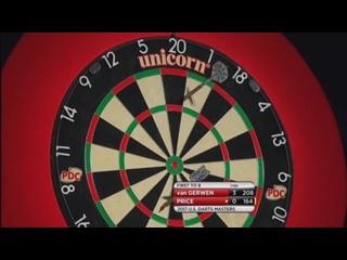 Michael van Gerwen vs Gerwin Price (PDC US Darts Masters 2017 / Semi Final)