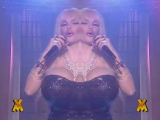 Lolo Ferrari - Dance, Dance, Dance (Excerpt) (Mexican TV) (Tribute Video) (1997)