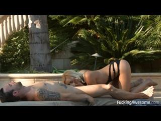 Качественное горячее порно с молодой грудастой порнозвездой Kylie Page