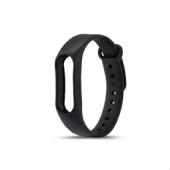 Ремешок для фитнес браслета Xiaomi Mi Band 2 (Черный)
