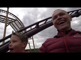 FedorUK Vlogs _ Американские горки в Poultons Park