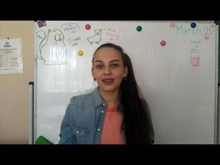 Пример видео-резюме от Ольги