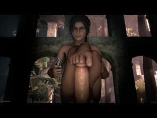 Footjob lara croft Lara Xmas