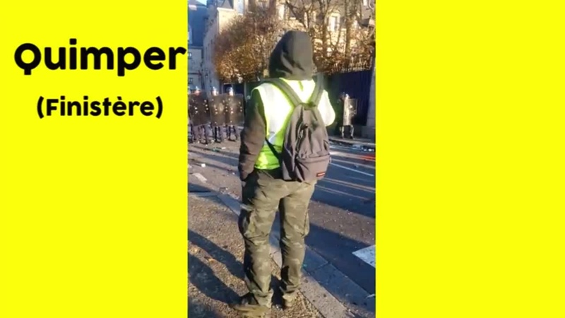 Florilège de violences policières sur les gilets jaunes