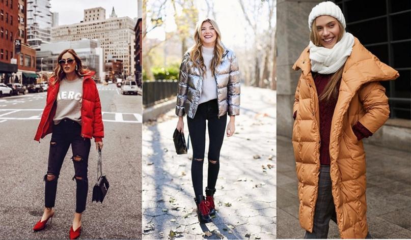 Пуховики и дутые куртки