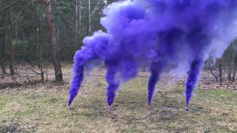 Цветной дым в Самаре JFS-2 (Фиолетовый)