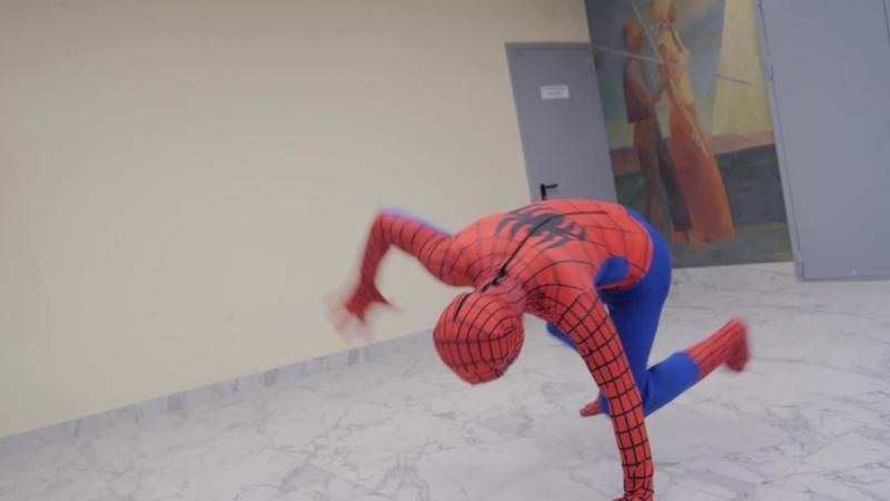 Человек паук Чтоб никто не сомневался что настоящий