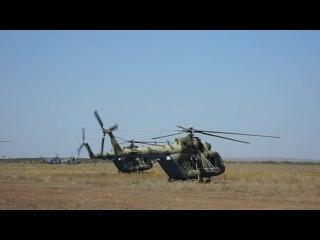 Вертолеты Ми-8АМТШ перебросили автомобили Багги на учении «Центр-2019»