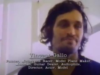 """Vincent Gallo on The Ramones (excerpt from """"We're Outta Here!"""", 1997)"""