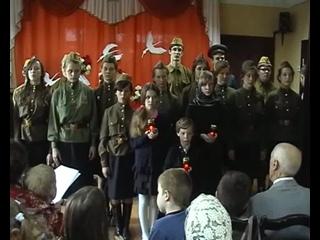 2. У войны не женское лицо 2015 (от сценки с Вовкой и Галей до финала)