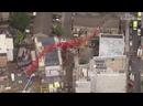 Падение строительного крана в Лондоне 7.07.20