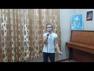 Елизавета Шаш, 8 лет (1 категория), эстрадный вокал, Донецк, КУДО ШИИ №6, преподаватель Тарасова С.В.