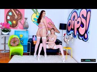 Adira Allure, Bella Rolland - Bella Adiras Anal Session - Porno, Threesome, FFM, Hardcore, Gonzo, Porn, Порно