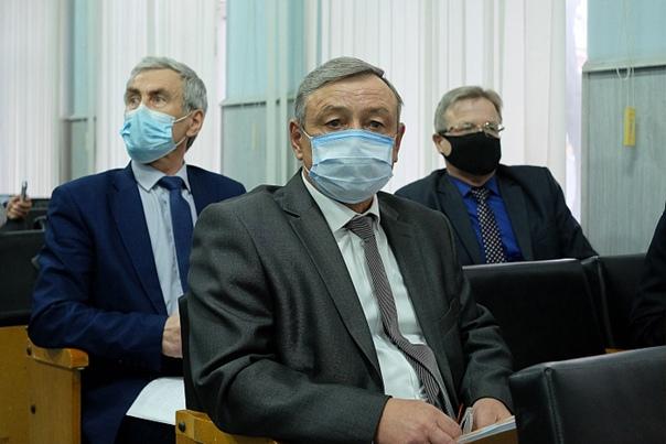 На переднем плане глава Кикнурского муниципального округа С.Ю.Галкин.