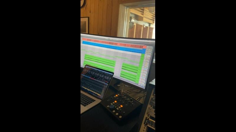 Малiнавы Jam Backstage с записи нового трека