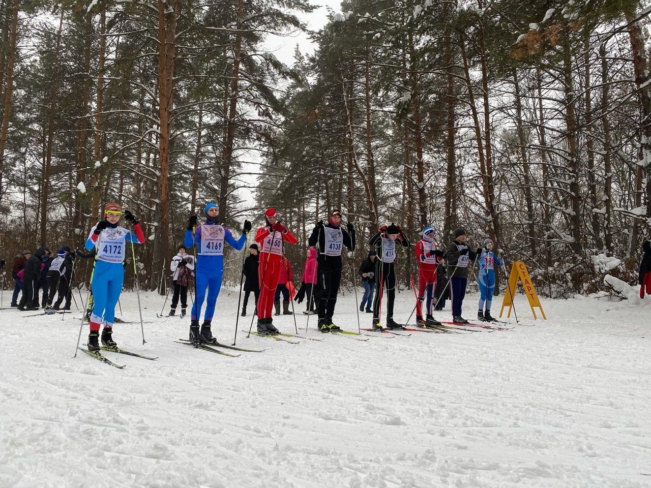 В Петровске состоялось первенство детско-юношеской спортивной школы по лыжным гонкам