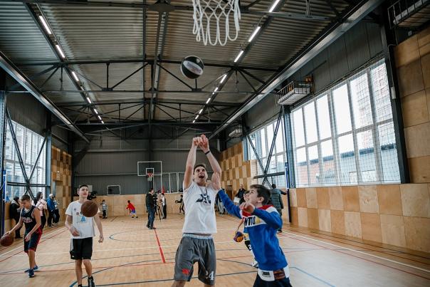 День открытых дверей детской баскетбольной академии