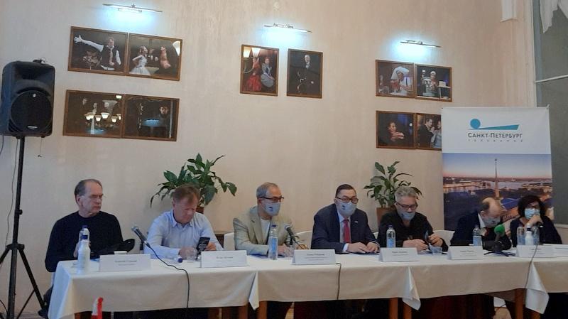 Пресс-конференция перед открытием фестиваля «Балтийский дом»