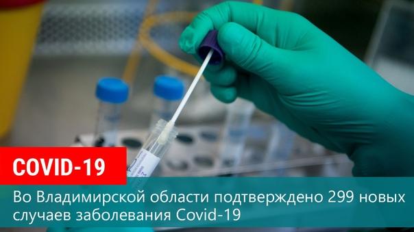 По состоянию на 21 октября во Владимирской области...