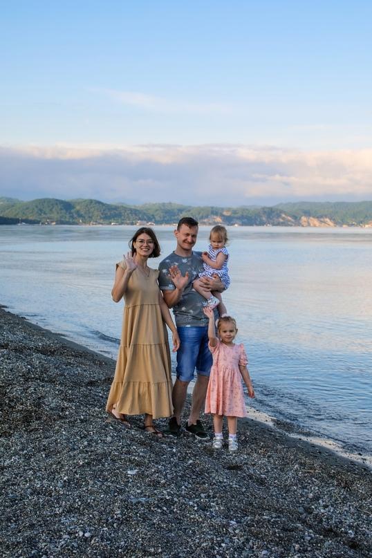 Семейная фотосессия в Пицунде - Фотограф MaryVish.ru