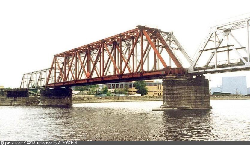 Даниловский мост, МОЖД на реконструкции