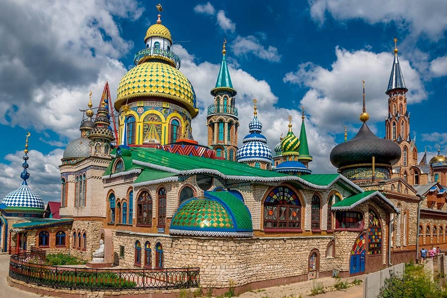 2021-08, Тур в Казань в августе (Свияжск, Раифа, Вселенский храм), 3 дня (B)