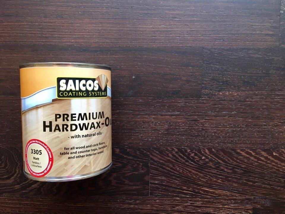 Масло с твердым воском Saicos Premium Hartwachsol