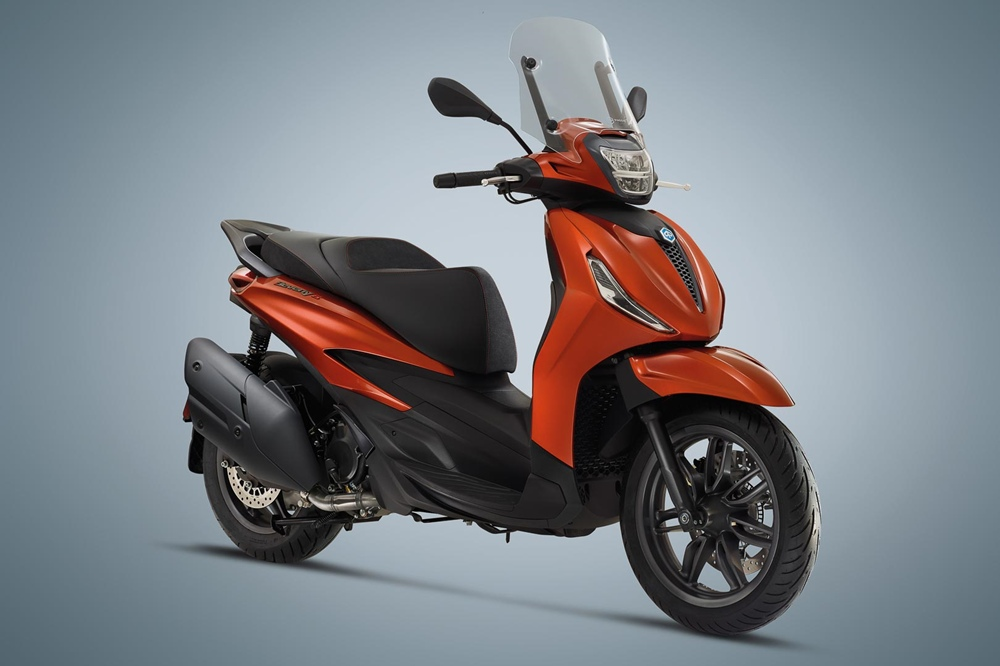 Линейка скутеров Piaggio Beverly 2021