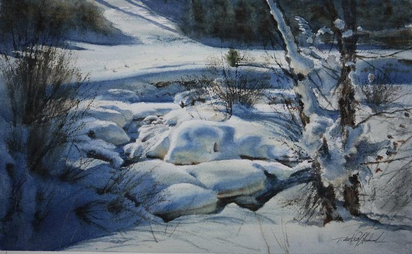 Американский художник-акварелист. Robert McFarland, изображение №27