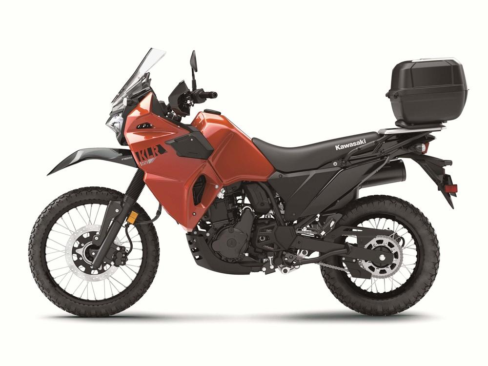 KLR жив! Анонсировали Kawasaki KLR650 2022
