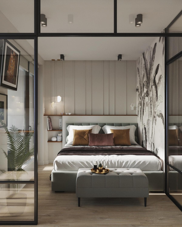 Проект квартиры-студии 33 кв.
