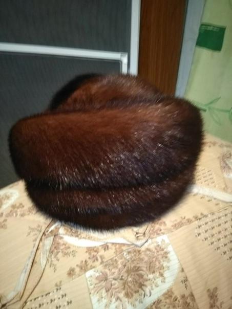 Продам шапку норковую в отличном состоянии...