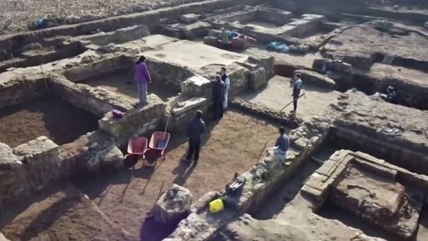 Археологи раскопали ставку легата римского легиона в Сербии.