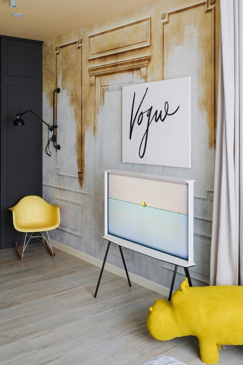 Дизайн квартиры-студии 29 кв.